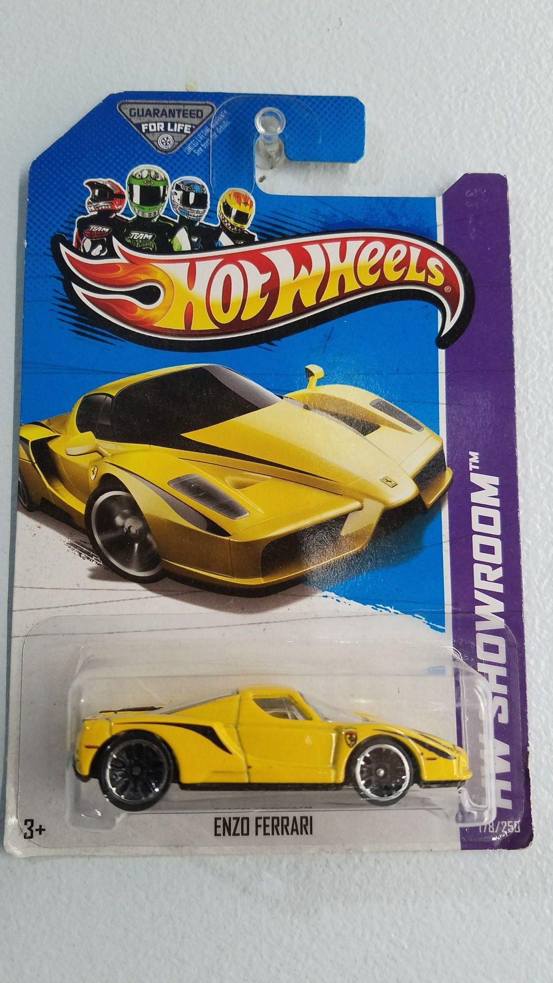 Hot Wheels Ferrari Enzo Con Imagenes Coches Miniaturas