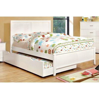 Hokku Designs Spectrum Platform Bed Size: Full, Color: Coconut White ...