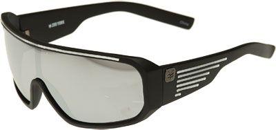 23b183de08 MENS – ZOO YORK Shield Stripe Sunglasses (Black White)  15.00