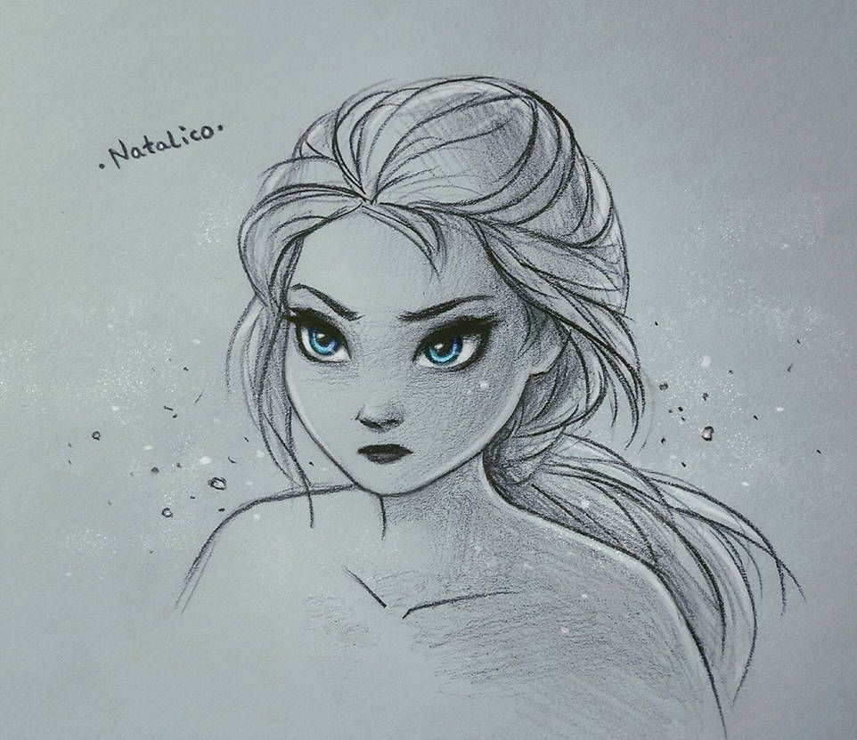 Elsa Frozen 2 By Https Www Deviantart Com Natalico On Deviantart Disney Princess Drawings Frozen Drawings Disney Drawings