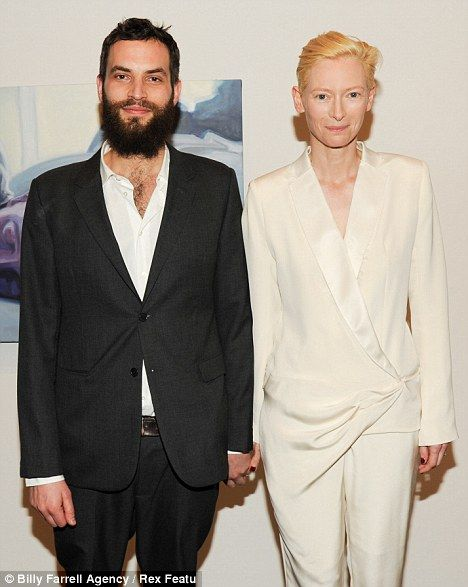 Sandro Kopp And Tilda Swinton Tilda Swinton Fashion Couple Androgynous Fashion