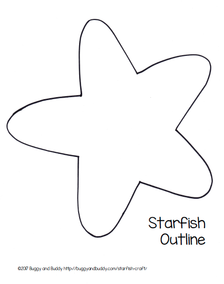 photograph about Starfish Printable identified as Pin upon Do-it-yourself and crafts