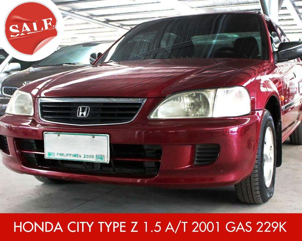 For Sale Honda City Type Z 1 5 A T 2001 Gas 229k
