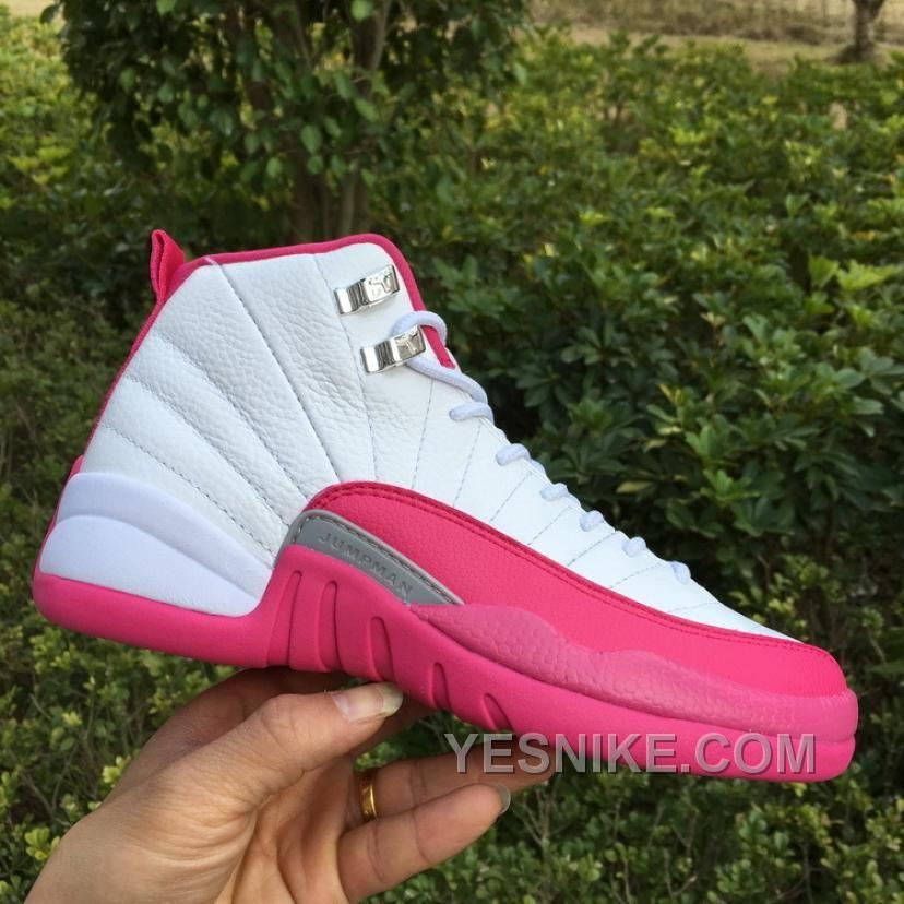 Big Discount 66 OFF Women Air Jordan 12 GS Dynamic Pink