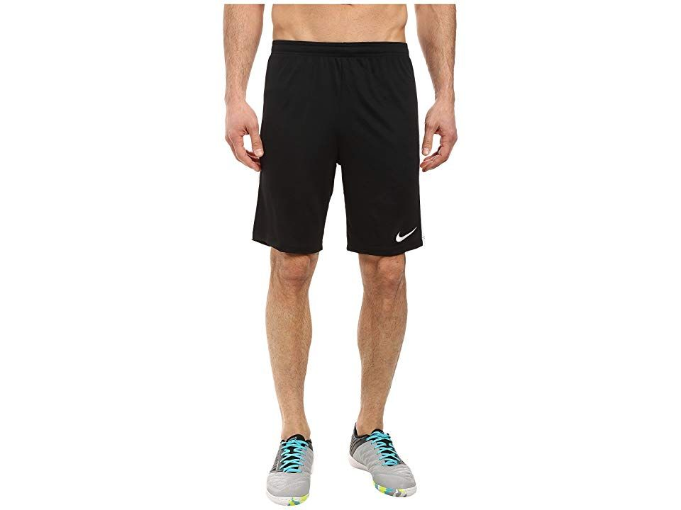 Nike Dry Academy Soccer Short BlackWhiteWhiteWhite Mens Shorts Put fear in the hearts of goalies everywhere with the aggressive Dry Academy Soccer Short Regular fit is re...