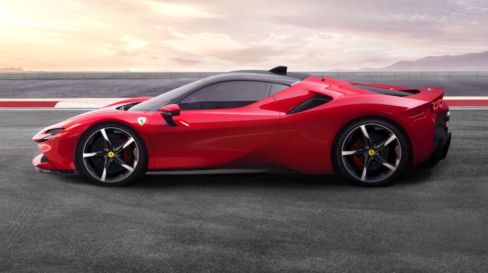2020 Ferrari Sf90 Stradale Review Pricing And Specs Super Cars Ferrari Hybrid Car