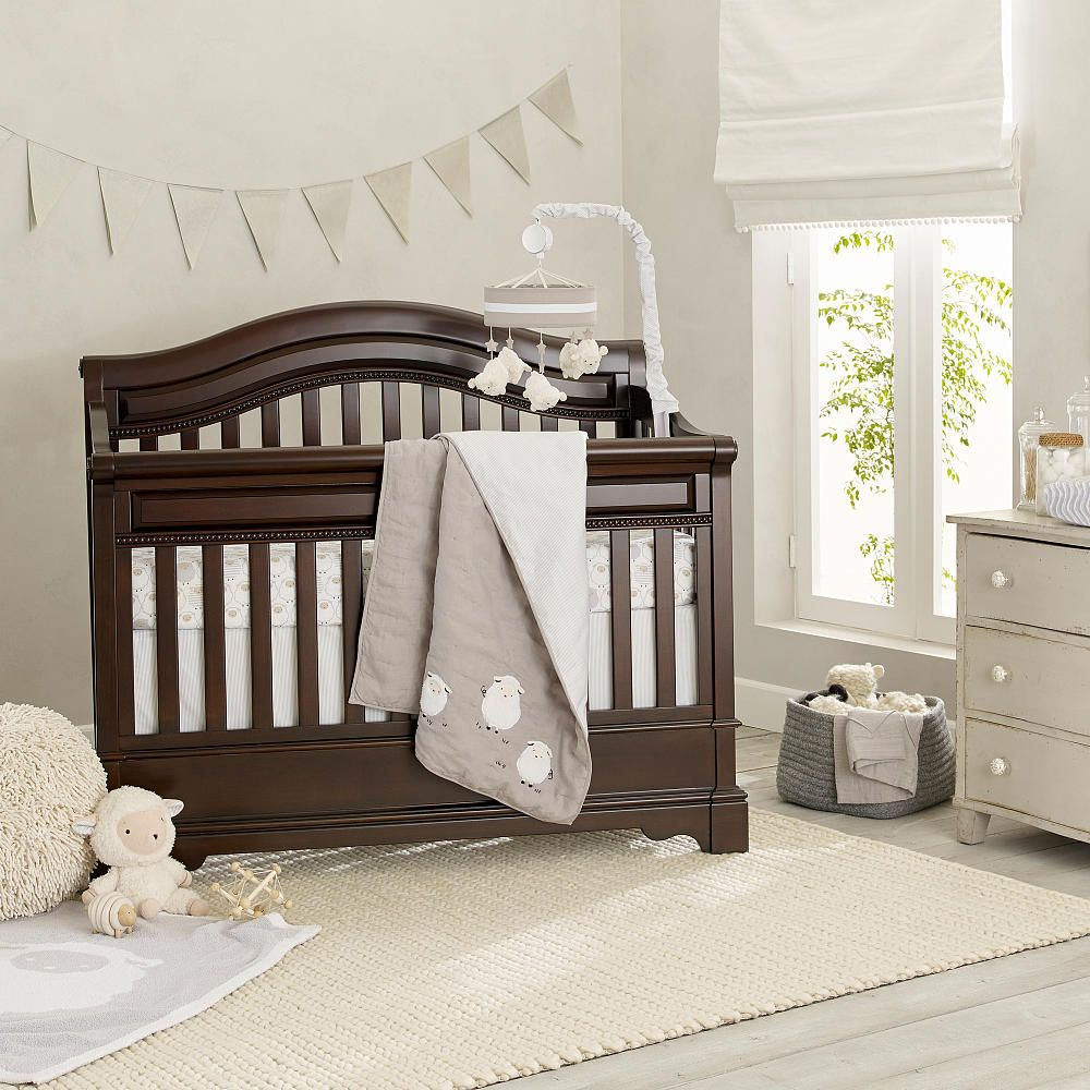 lambs ivy goodnight sheep 4 piece crib set lambs ivy signature babies r us nursery. Black Bedroom Furniture Sets. Home Design Ideas