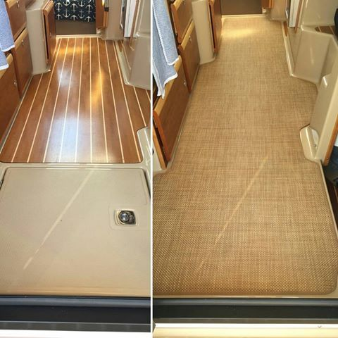 Image Result For Infinity Grass Cloth Collection Boat RV Floor Covering.