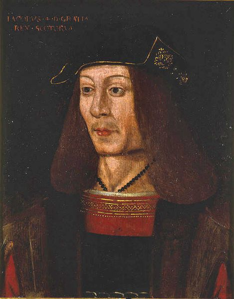 James IV (1473 – 1513) was King of Scots from 11 June 1488 to his death. He is generally regarded as the most successful of the Stewart monarchs of Scotland, but his reign ended with the disastrous defeat at the Battle of Flodden Field, where he became the last monarch from not only Scotland, but also from all of Great Britain, to be killed in battle.