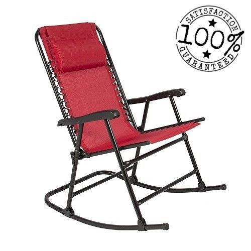 Chair Outdoor Patio Foldable Furniture For Garden Amp Camping Home Amp Garden Yard Gard Rocking Lawn Chair Folding Rocking Chair Outdoor Folding Chairs
