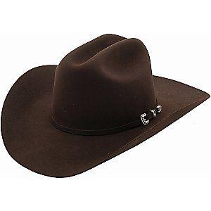2b9fead460f9b Stetson 4X Skyline Chocolate Felt Cowboy Hat | beautyful cloths ...