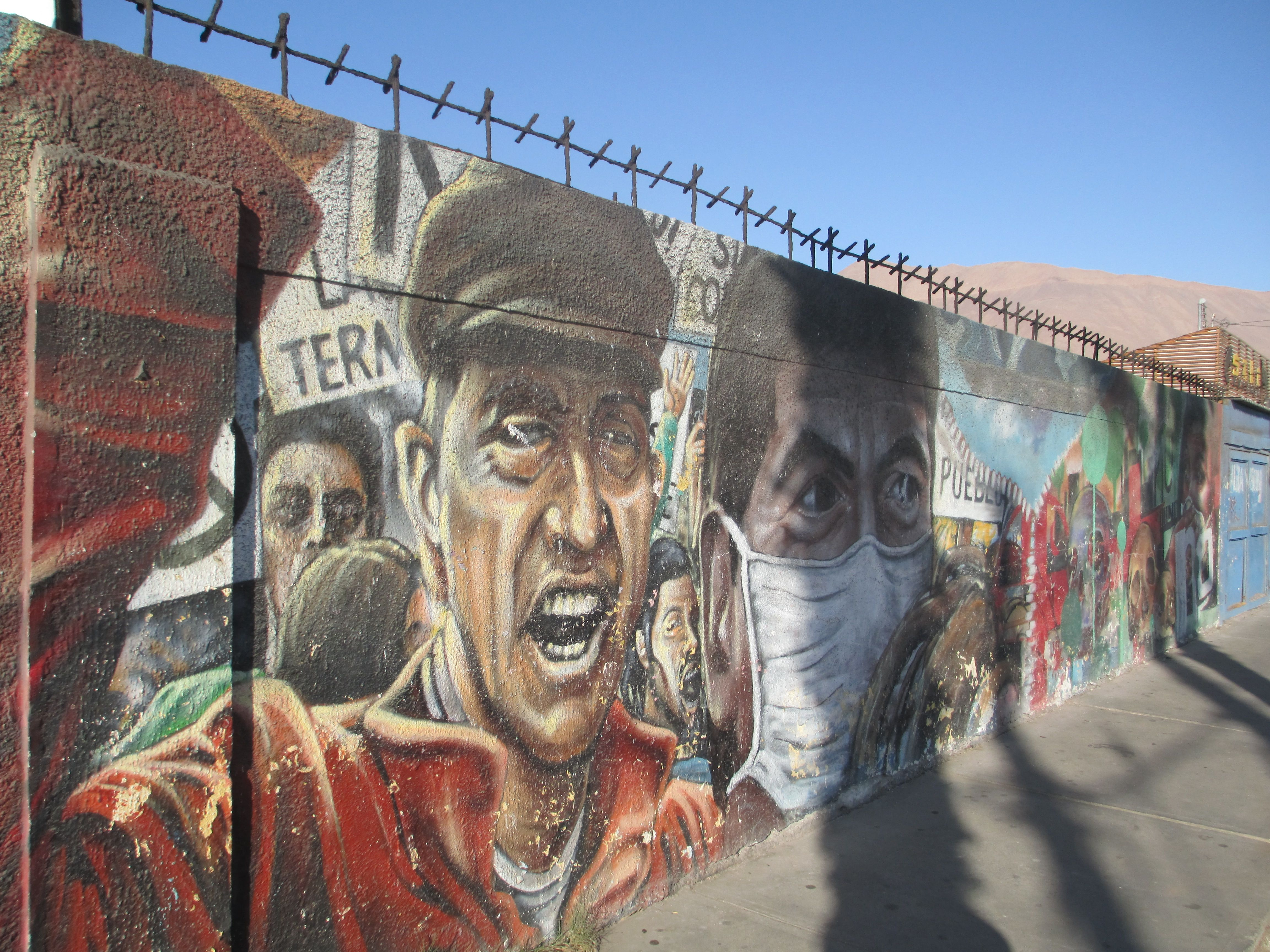 #Arte #Murales #Iquique #Chile Av. Playa Brava