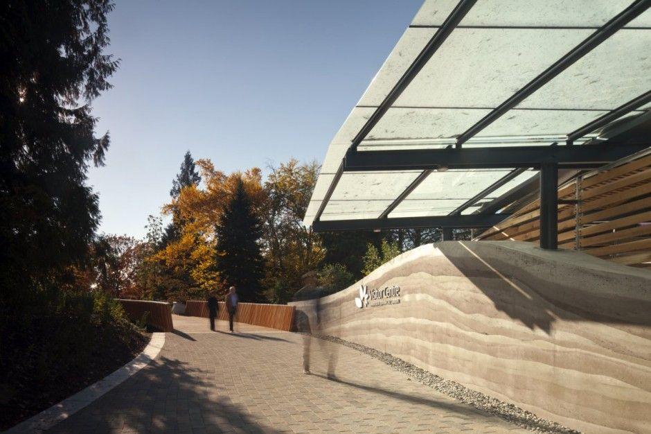 Centro de visitantes Jardín Botánico Van Dusen. Perkins + Will