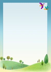 Шаблоны для оформления работ про лето | 유치원, 교실, 교육