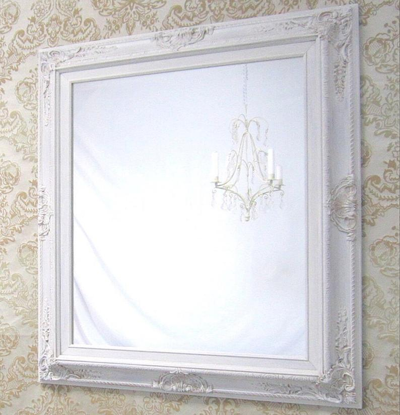 Ivory Framed Mirror Vanity Mirrors For Sale French Country Home Decor 31 Quot X27 Quot Baroque Ivory