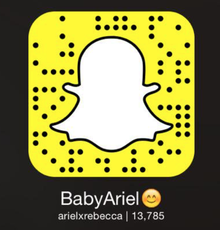 Baby Ariel Snapchat Username Snapcode Gazette Review Baby Ariel Snapchat Username Ariel Baby