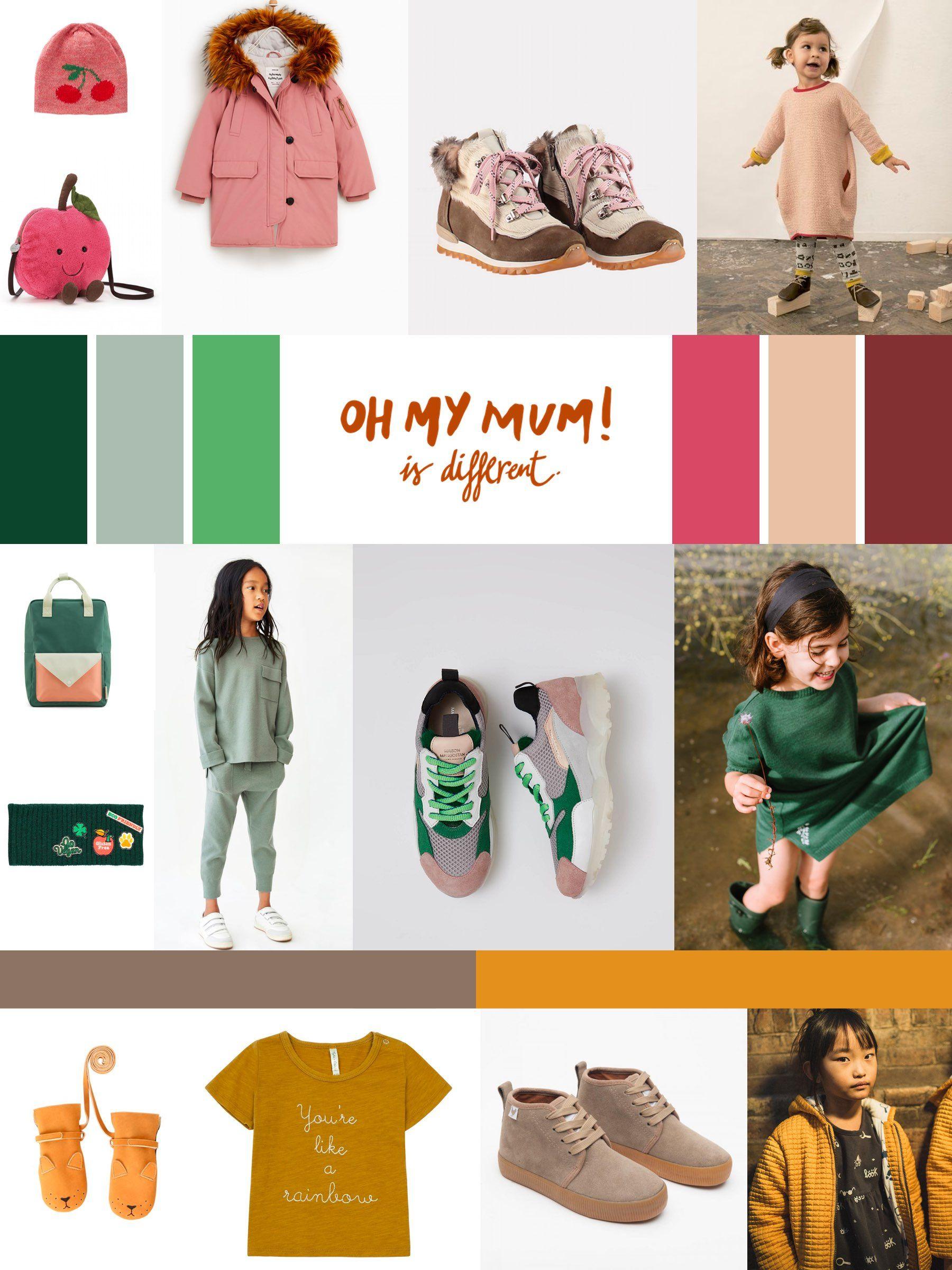 Moda Infantil Para La Temporada De Otono 2018 Los Colores Que Mas Inspiran Las Prendas De Otono Para Los Mas Pequ Moda Infantil Moda Infantil De Invierno Moda