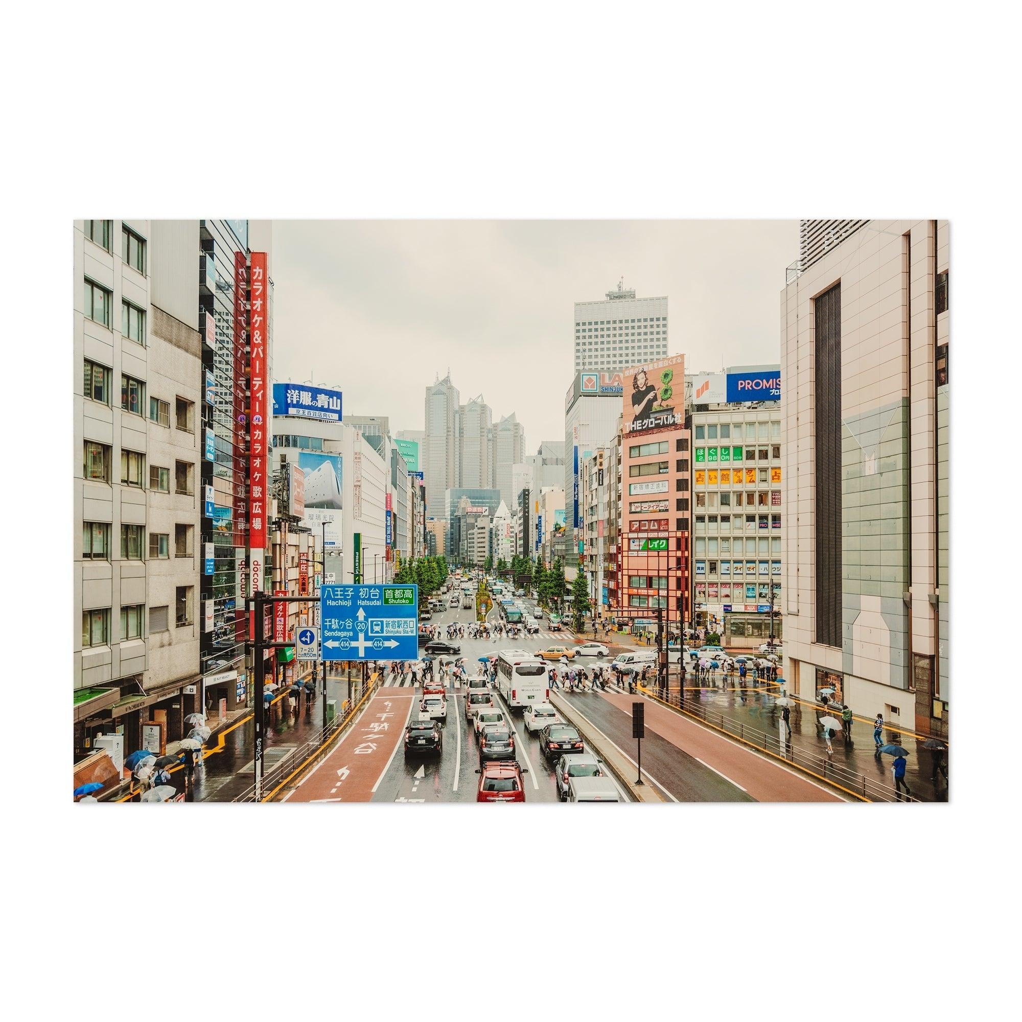 Noir Gallery Shinjuku Tokyo Japan Cityscape Unframed Art