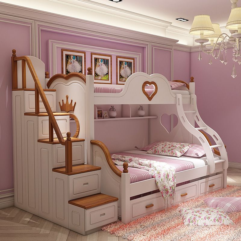 Best Made To Order Luxury Classy Heart Sophisticated Bunk Bed 640 x 480