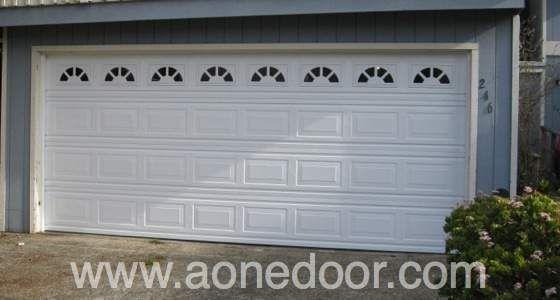 Garage Door With Glass By A 1 Overhead Door Company Http Santacruzconstructionguild Us A 1 Overhead Doo Overhead Door Garage Doors Garage Door Installation