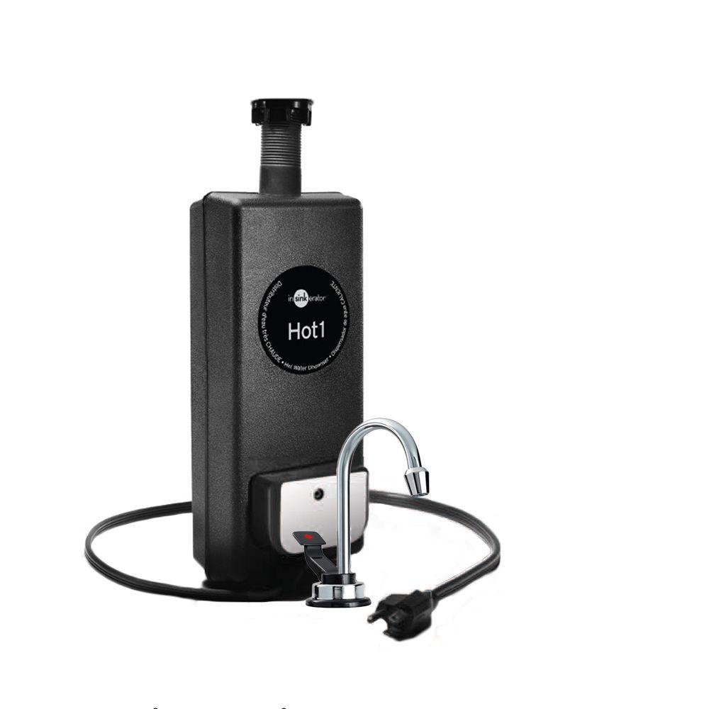 InSinkErator Hot1 Hot Only Faucet & Tank System | InSinkErator ...