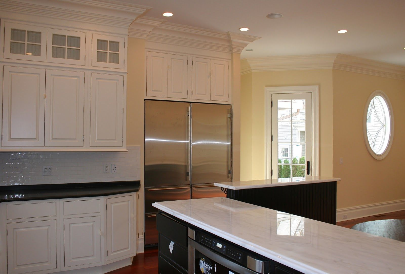 Hepplewhite ivory paint colors pinterest ivory for Ivory colored kitchen cabinets
