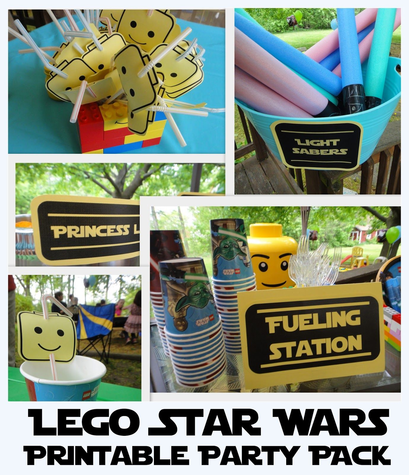 Lego Star Wars Party Free Printables Games Menu Ideas