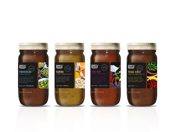 15 Food Label Design Samples to Satisfy Your Creative Hunger