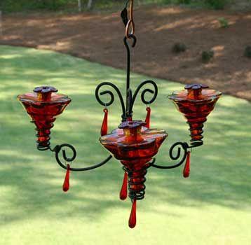 Chandelier Glass Hummingbird Feeder Yard Envy Glass Hummingbird Feeders Humming Bird Feeders Glass Chandelier