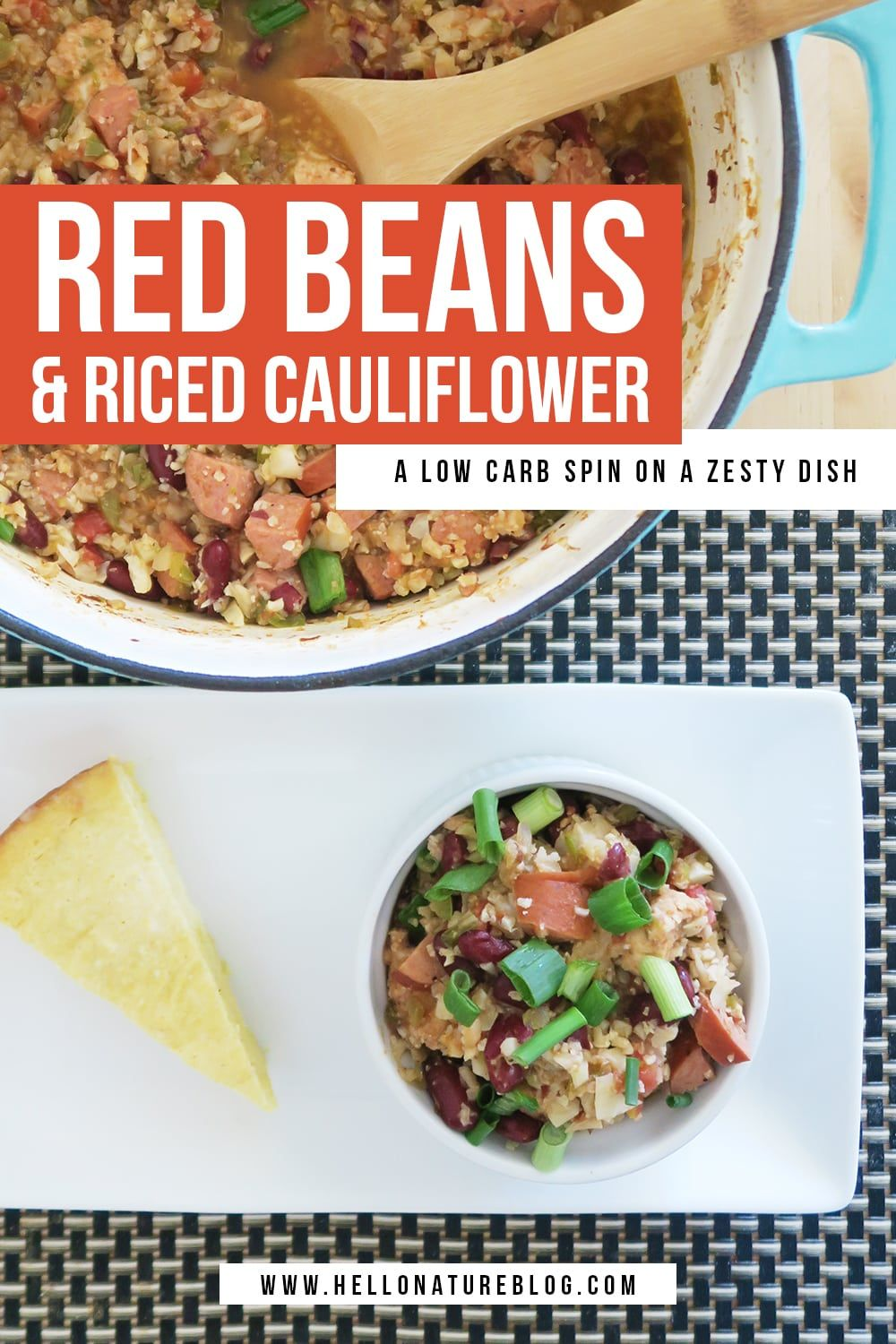 Photo of Red Beans and Riced Cauliflower Recipe