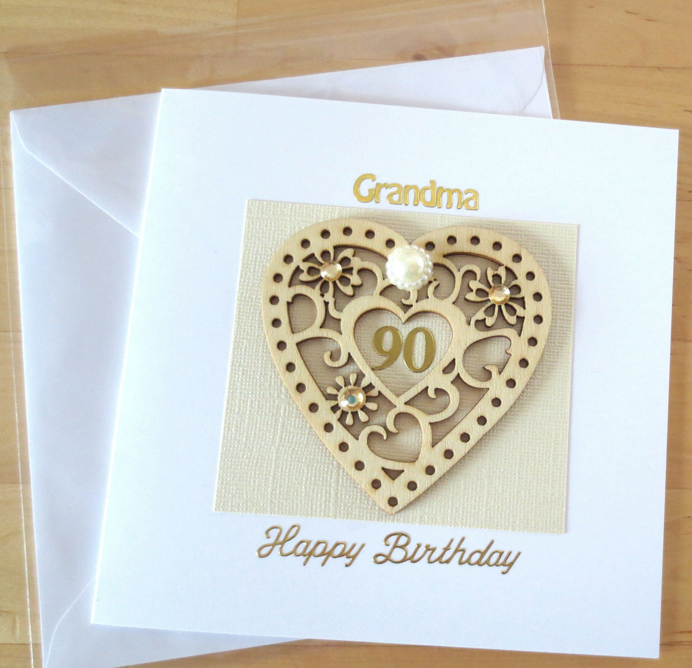 100th Birthday Card 90th Gifts Cards For Her Grandma