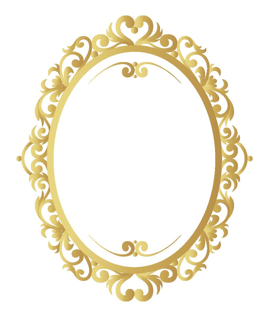 Vector Vintage Frame Gold Pattern Border Vintage Frames