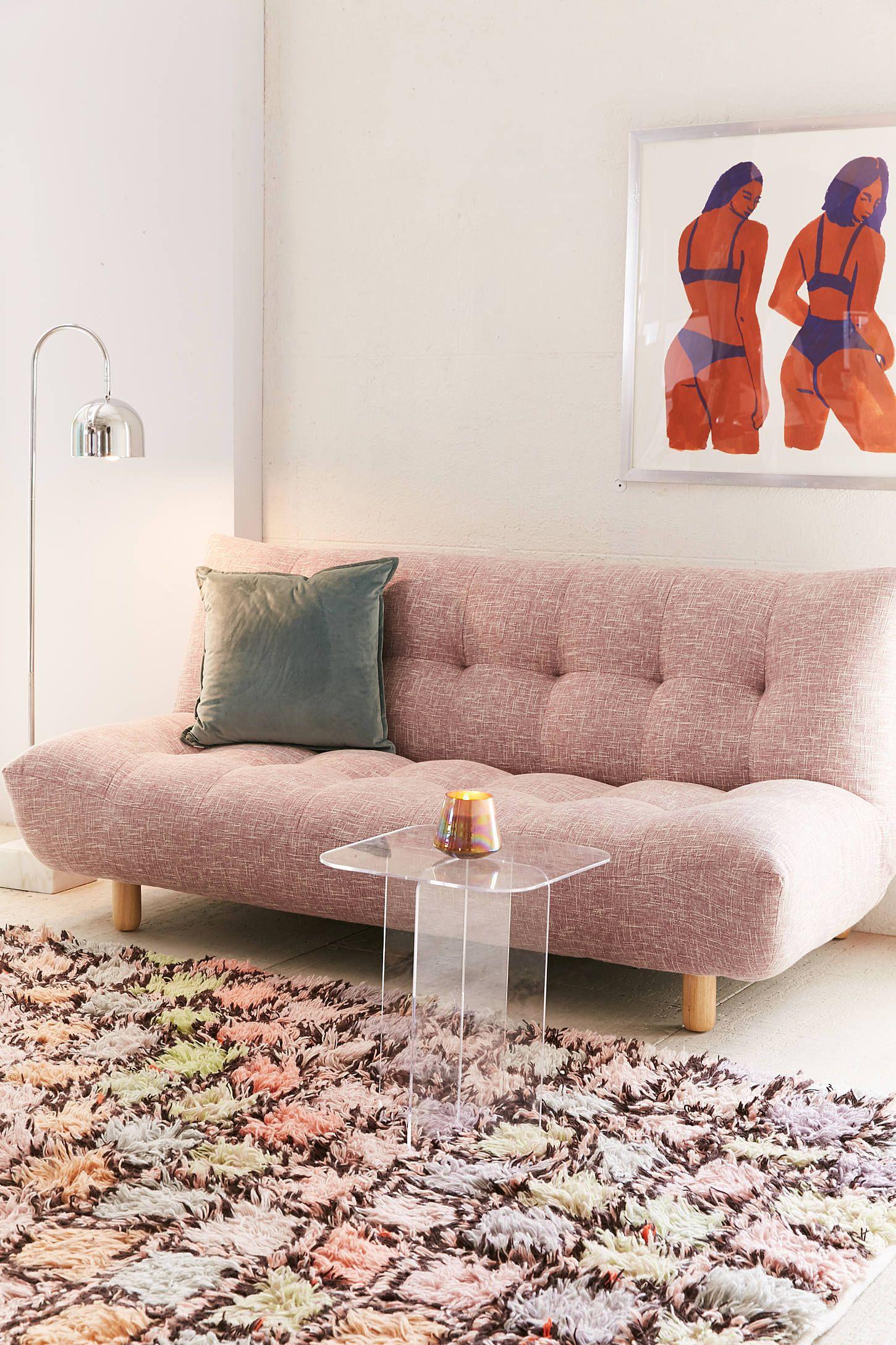 Winslow Armless Sleeper Sofa | Sofas for small spaces ...