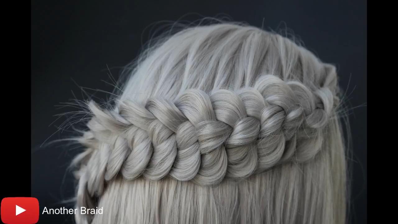 water fall braid to bun # water fall Braids tutorial Log in # water fall Braids tutorial