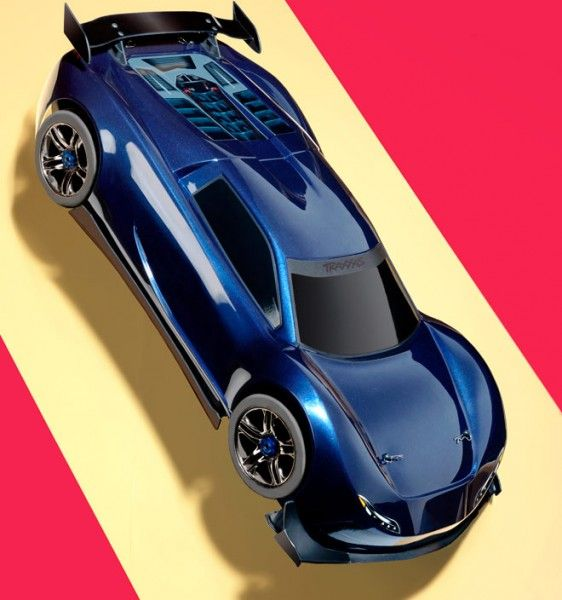 Remote Controlled 27 Inch Mini Car Traxxas XO-1 Speeds At