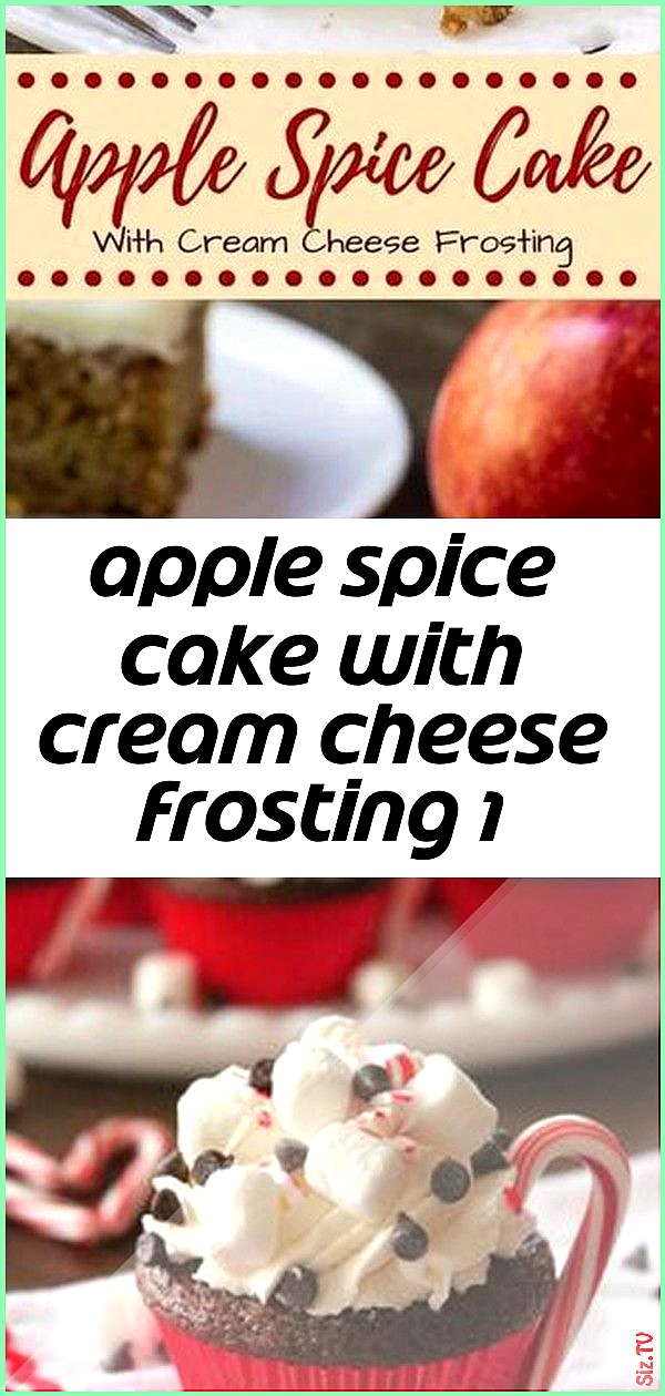Apple spice cake with cream cheese frosting 1 Apple spice cake with cream cheese frosting 1 Matthew