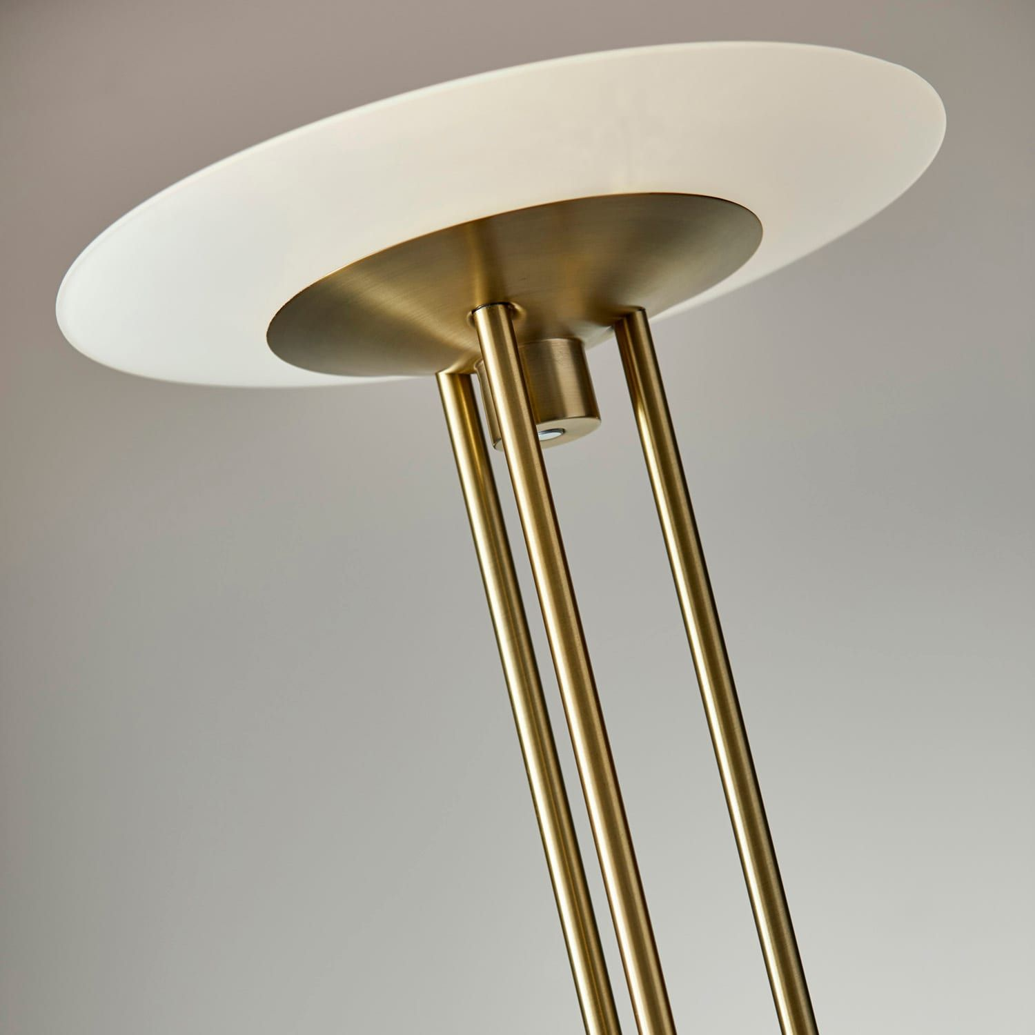 Adesso Newton LED Torchiere Floor Lamp Affiliate LED,