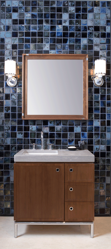 Ceramic Art Tile Fire And Earth Ann Sacks Tile Stone Black Bathroom Blue Bathroom Amazing Bathrooms