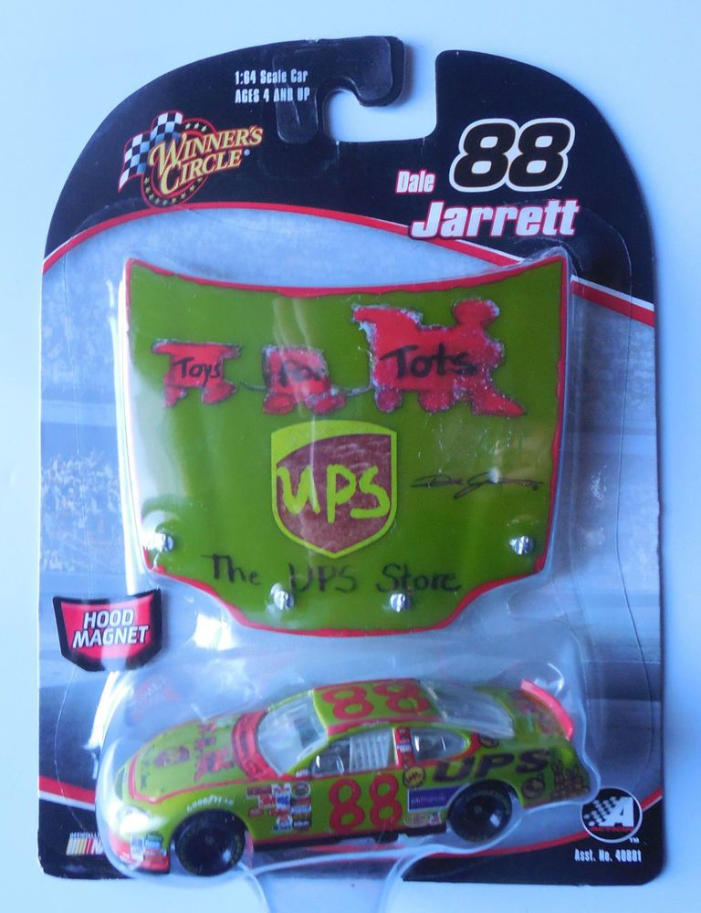 2006 Winners Circle Dale Jarrett 88 UPS Store Toys For Tots 164