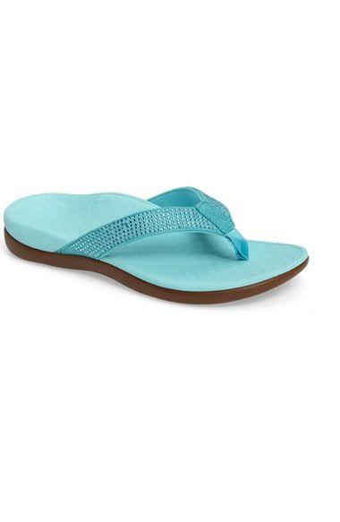 59b0d8b785e370 Vionic  Tide - Rhinestones  Flip Flop (Women) available at  Nordstrom