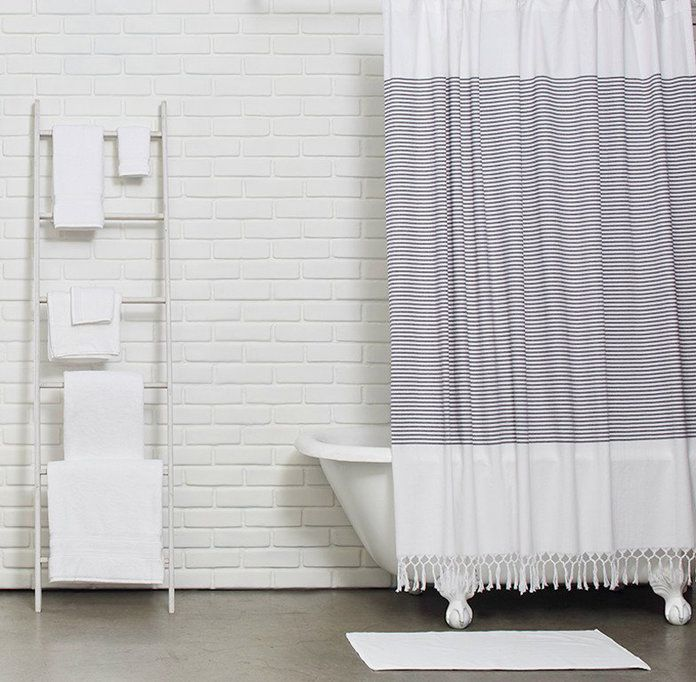8 Fabric Shower Curtains Your Bathroom Desperately Needs | Fabrics ...