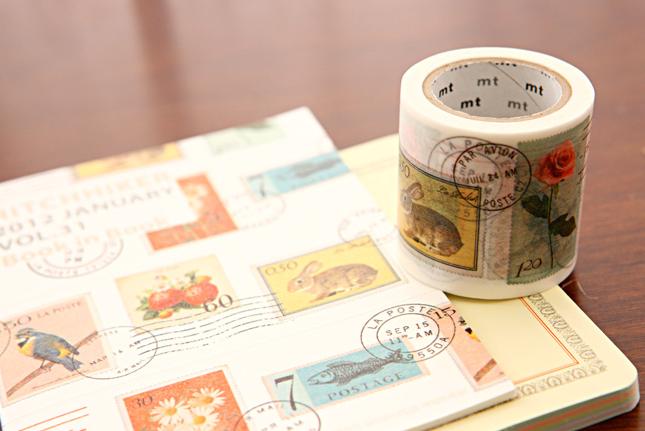 Vintage Stamps Washi Tape