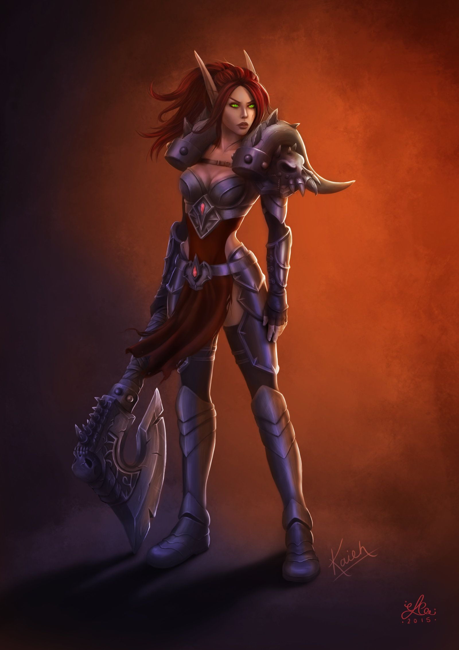 Kaieh By Elcee Deviantart Com On Deviantart World Of Warcraft