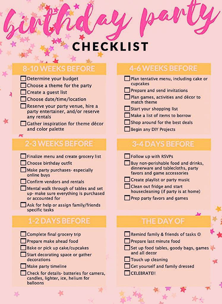 Photo of Party Planning with a Kids' Birthday Checklist!