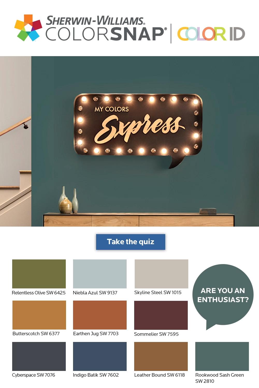 Photo of Was sagen deine Wände über dich? Nehmen Sie am ColorSnap® Color ID-Quiz teil und finden Sie …
