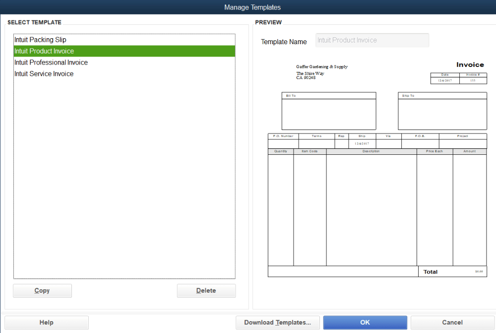 How To Customize Invoice Templates In Quickbooks Pro Merchant Maverick Intended For How To Edit Quickbooks In Invoice Template Create Invoice Business Template