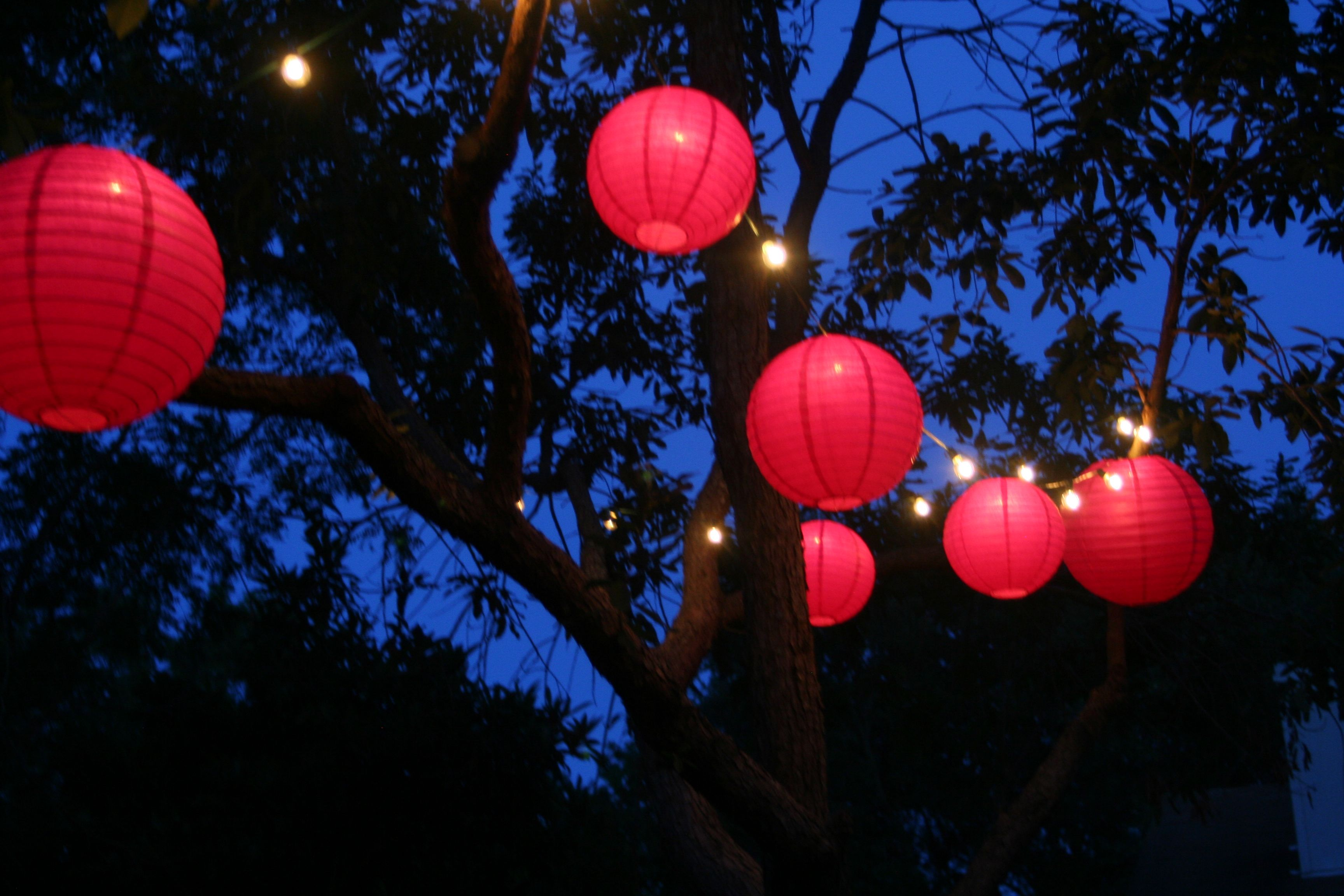 Paper Lanterns Walmart Inspiration Backyard Decorlights And Pink Paper Lanterns They Have Them At Inspiration