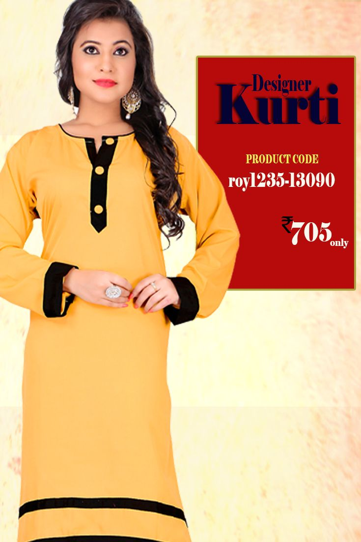 Light Orange #DesignerKurti This #kurti is a must have in your closet for #trendy casual wear. Pair it up with denims, leggings and churidar trousers and create a new look ever so often #womanwear #casualwear #shopping #casualoutfit #dailywear #newdesigns #onlinekurti #thechoiceisyours