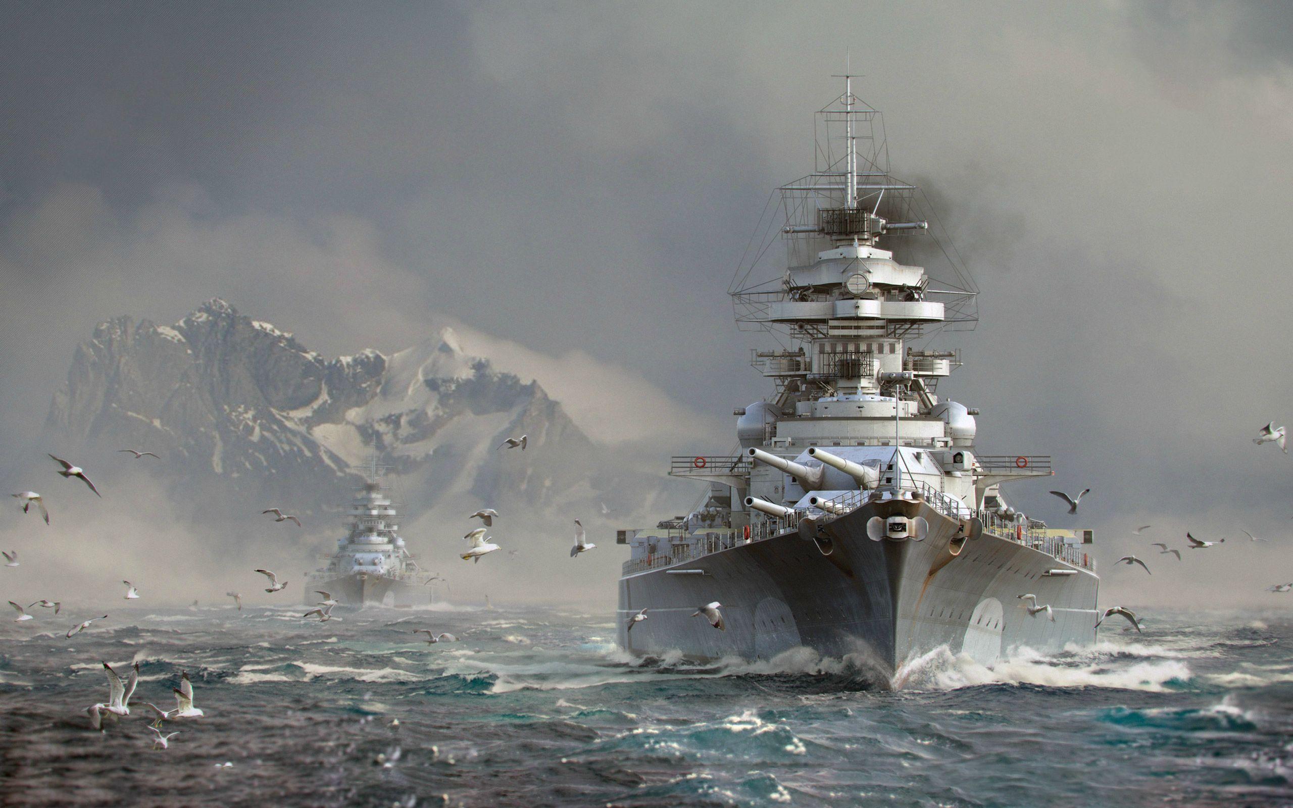 Video Game World of Warships Warships Warship HD Wallpaper