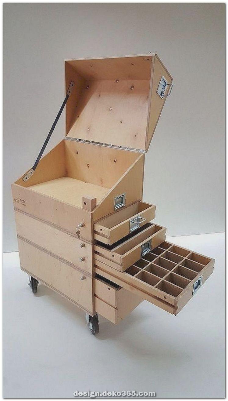 Außergewöhnlich fantastische DIY Projekte Holzmöbel Ideen #caixasdemadeira